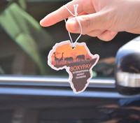 Cute type best sale Hanging Car Air fresheners paper