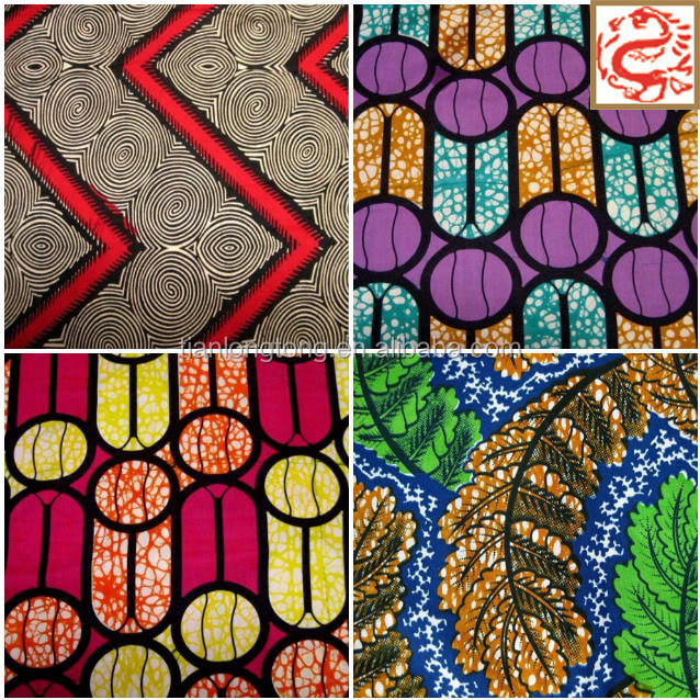 100% cotton fabric print fabric african wax prints fabric