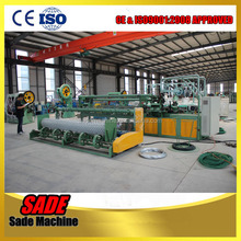 Best sale chain link fence machine with safety guard