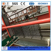 Chrome paint machine spray on chrome electroplating equipment