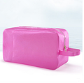 Pink swimwear bag swimming waterproof transparent package beach candy color waterproof bag