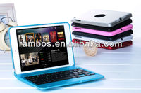 Stand Holder Wireless Aluminum Keyboard cover for iPad mini Tablet PC