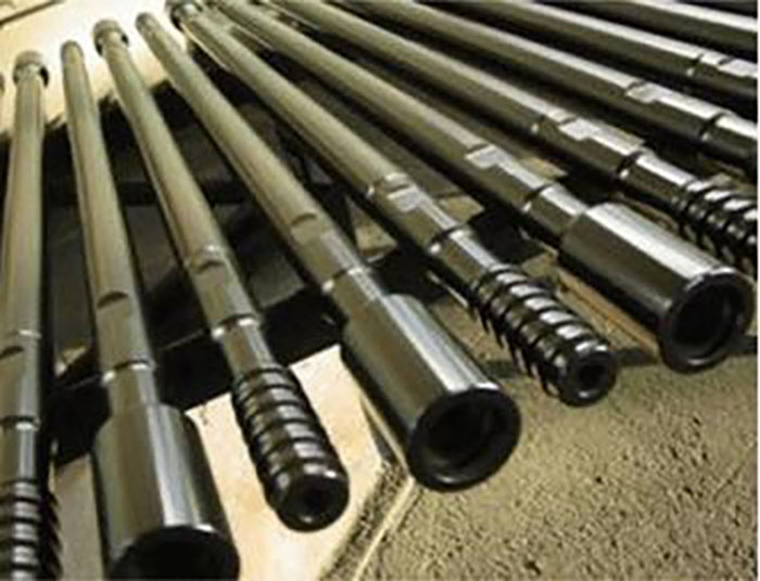 Square pipe API international trade/square drilling tool r22 drill rod for hospital
