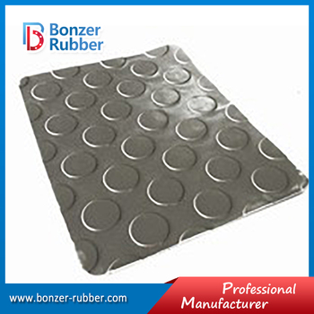 Nanjing Bonzer black color commercial grade coin floor mat