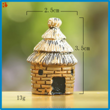 mini cartoon house model toy/custom plastic mini toy for kid/mini toy maker