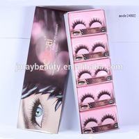 2018 New Styes Private label False Fur Material Reusable Mink Eye Lashes