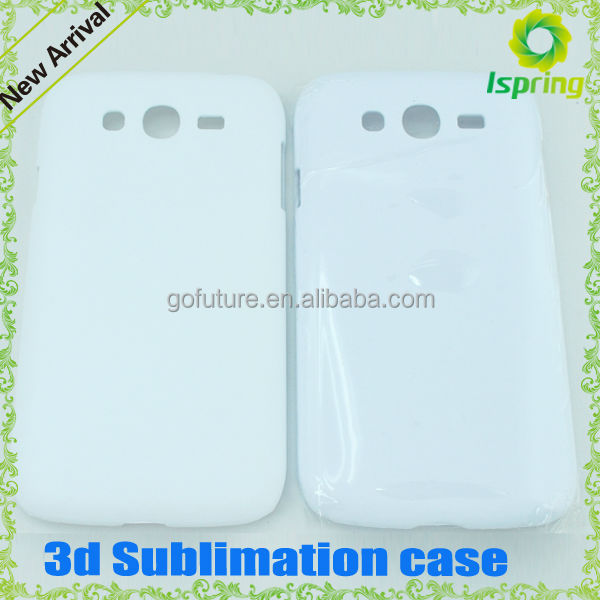2014 factory supply, blank sublimation case for galaxy grand duos