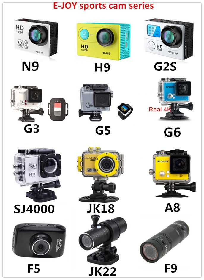 2016 New products Waterproof promotion real 4K@30FPS sports camera 4k