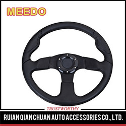 Meedo 320mm Chinese car parts,PU interior steering wheel classic car parts wholesale
