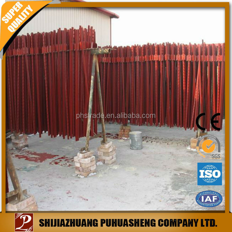 Hot China products wholesale 2 layers fence posts