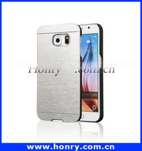 Promotional Price for Motomo Brushed Metal Cell Phone Aluminum Case For Samsung Galaxy S6