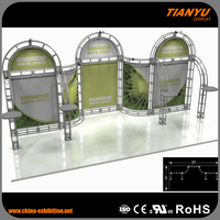Economic aluminum truss system