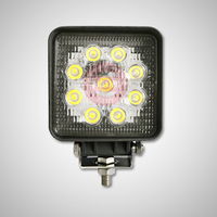 IP 67 1800LM LED DRIVER LIGHT,27W LED AUTO DRIVING LAMP,MACHINE AUTO LED DRIVING LIGHT