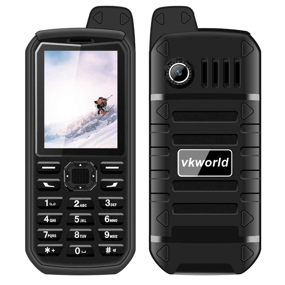 Small Mobile Phones VKWORLD V3S Plus <strong>GSM</strong> 2g Rugged Bar Phone