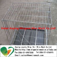 Stainless Steel dog Cage / hot sale folding metal pet cage dog