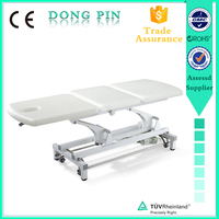 massage table specific use and synthetic leather material electric facial bed
