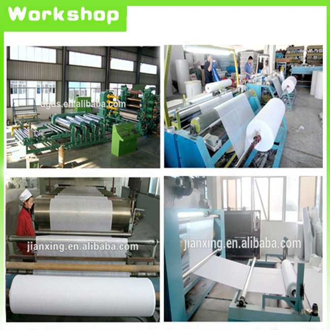 Dongguan factory wholesale polyester double dot non woven fusible interlining