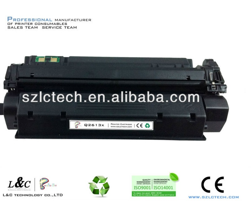 Compatible Black Toner For hp Q2613X Laser Jet 1300/1300N Printer Supplies