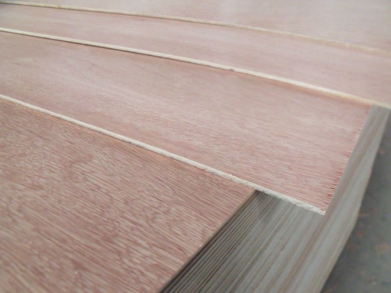 Okoume or peach Veneer Faced Plywood Door Skin