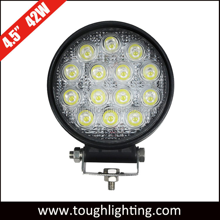 High power super bright 12V 42W round automotive led