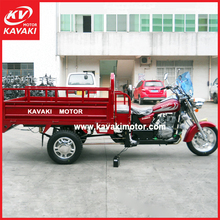 200CC 4 Stroke Air Cooled Engine Motorized MTR Model Cargo Moto Tricycle Export To Thailand