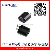 G series 5w 5V1a 1 usb port CCC UL PSE ac dc USB charger 5V switching power supply with US plug for iphone ipad,mi