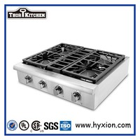 freestanding stainless steel CSA approval 30 induction cooktop