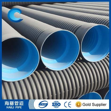 pe corrugated water supply pipe