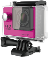 Action Camera 4K Wifi 2.0 LTPS LED mini cam recorder marine diving HD DV two batteries + monopod
