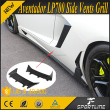 OEM Style Aventador LP700 Carbon Fiber Auto Exterior Accessories for Lamborghini 2011-2015 2pcs/set