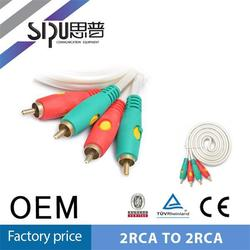 SIPU cable vga to female rca 2rca to 2 rca high quality