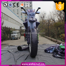 inflatable giant motorcycle /shopping mall promotion,outdoor advertising