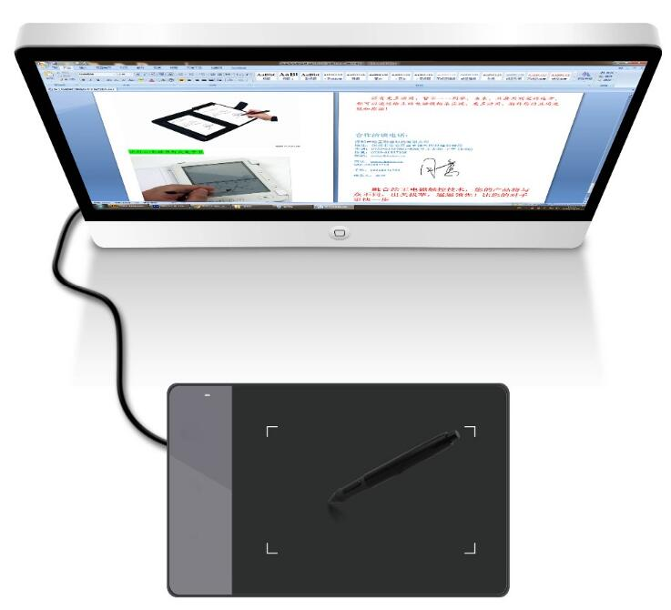 Popular HUION 420 4 Inch art Electronic Signature Pad digital graphic design <strong>tablet</strong> for PC Laptop Computer