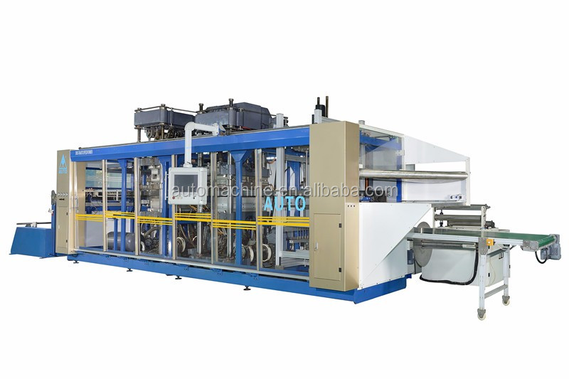 2016 Hot sale automatic plastic PP PS container thermoforming machine