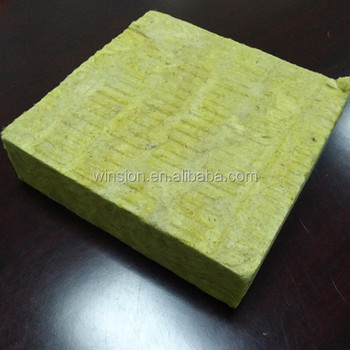 Made in China fireproof material insulation Rock Wool Board