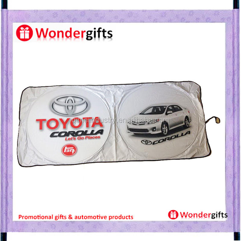 Auto Front Windshield Car Sunshades White tyvek car sunshades