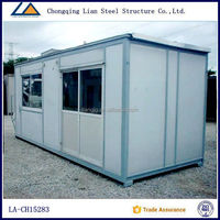 2016 Popular China Light Steel Frame prefabricated house