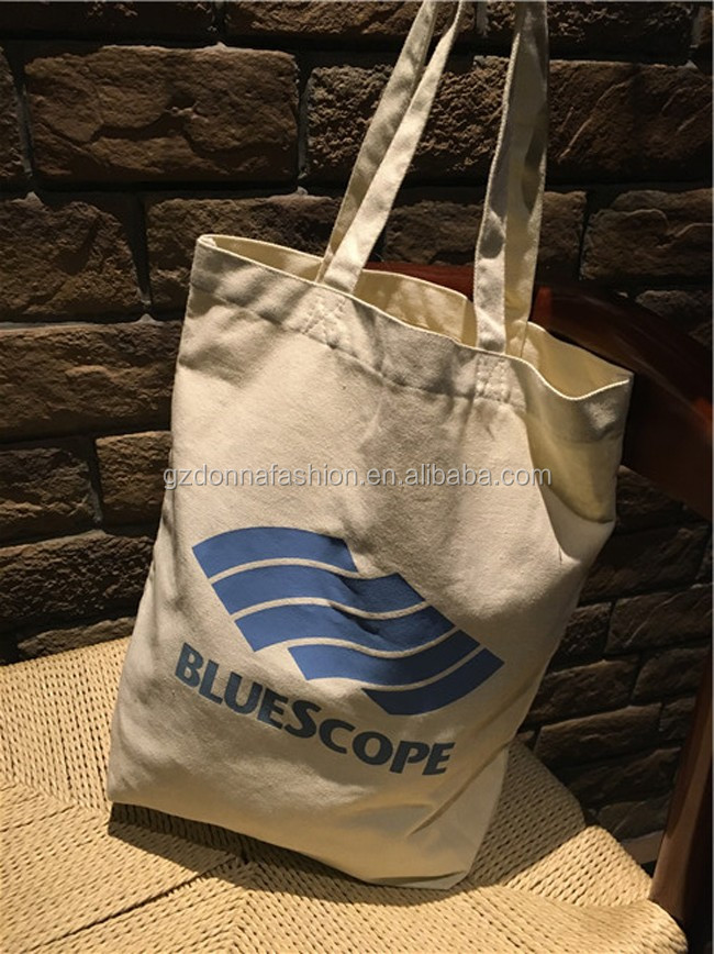 New Arrival Wholesale Custom Canvas shopping bag DNBG3SB0115