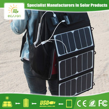 High Capacity waterproof folding solar panels for camping