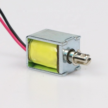 China Products Powerful Dc 6v 12 Volt Small Solenoid Electromagnet