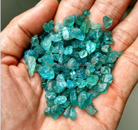 Blue Green Apatite Crystal Stone Natural Rough Mineral Specimen