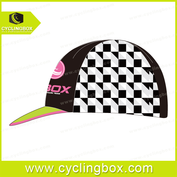 2015 CYCLINGBOX Custom cycling cap high quality and accept small quantity
