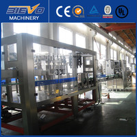 Automatic liquid bottle filling machine / water bottling plant