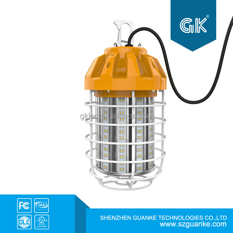 Portable Work Light Hanging Trouble Lamp Metal Clip Light Work Light With Plug