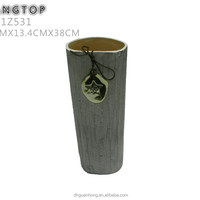 Cement Ceramic Vase For Home Decoration