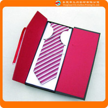 2015 NEW High quality famous brand necktie red packaging box
