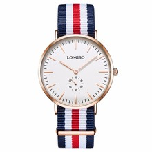 2017 latest multi-choice cheap price nylon watches with nato strap men women Mid-east