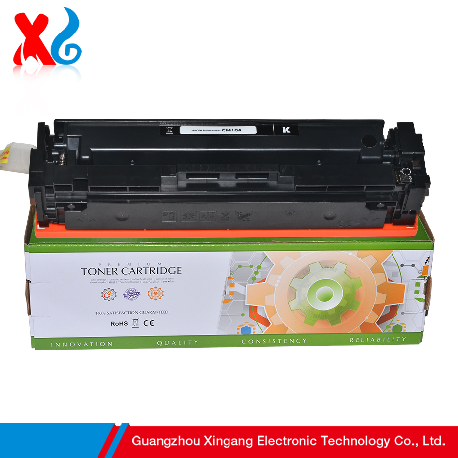 Compatible Static Control Cf410a Toner Cartridge For HP Color LaserJet Pro M452dn MFP 477 Black