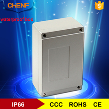 Crashproof waterproof aluminum enclosure electrical junction box ip65