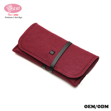 The Best Selling Custom Wool Felt Cellphone Bag Unique Wrap Pouch for iPhone 6s